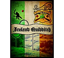 New Ireland Quidditch Photographic Print