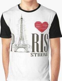 PARIS STRONG Graphic T-Shirt