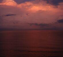 Thundery Sunrise II - Tormentoso Amanecer by Bernhard Matejka