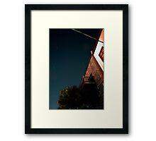 NoB Sky Framed Print
