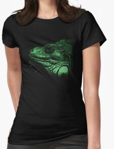 leguan, animal, girl shirt T-Shirt