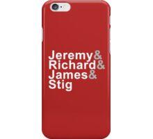 Jetset Top Gear iPhone Case/Skin