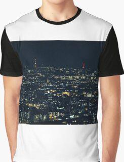 Blurred City Graphic T-Shirt