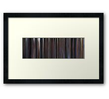 Moviebarcode: The Shawshank Redemption (1994) Framed Print