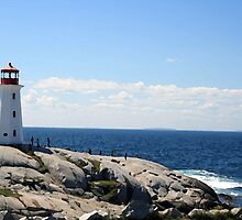 Peggy's Cove Lighthouse by Jessica Dryden