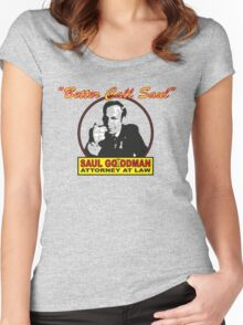 Better Call Saul!! Women's Fitted Scoop T-Shirt