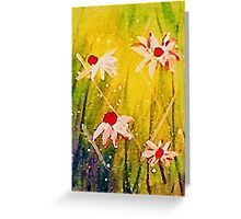#2  series of daisies Greeting Card