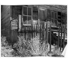 Front Porch, Bodie Ghost Town, Bodie, California Poster