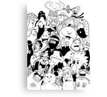 George Clarke - Characters Mar15 Canvas Print