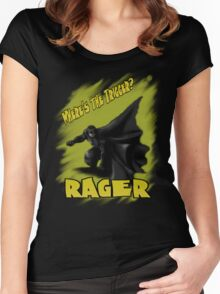 Where's the TRIGGER?!?! Women's Fitted Scoop T-Shirt