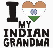I Heart My Indian Grandma Baby Tee