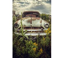 Funny how time slips away Photographic Print