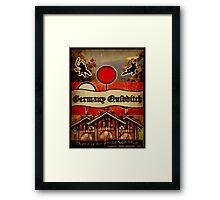 New Germany Quidditch Framed Print