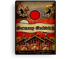 New Germany Quidditch Canvas Print