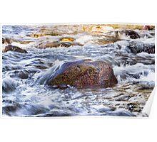 Beautiful Flowing Creek Poster