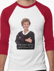 I'm the Boss Men's Baseball ¾ T-Shirt
