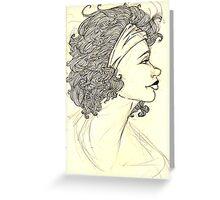 Hair Watch Greeting Card