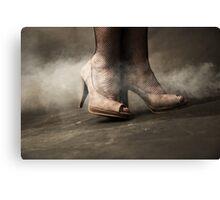 brown shoes Canvas Print