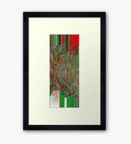 Cerebral Network Framed Print