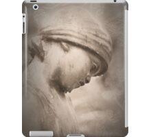 looking down iPad Case/Skin