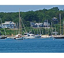 Boats in the front yard ... Photographic Print