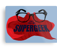 Super Geek Metal Print