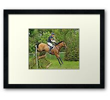 William Fox-Pitt riding Avoca Alibi Framed Print