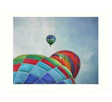 3 Balloons At Readington Art Print