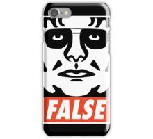 ...FALSE iPhone Case/Skin