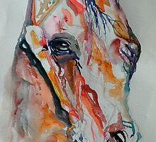 Wild Horse by BevsArtCreation