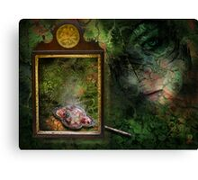 the forest dark and deep Canvas Print