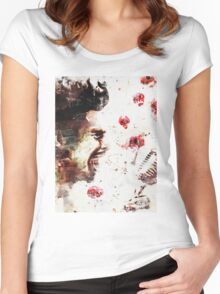 Chris Cornell - The Voice Women's Fitted Scoop T-Shirt