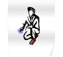 10th Doctor Ink Poster