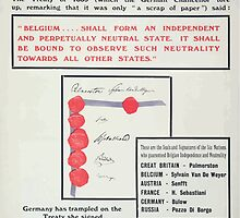 The scrap of paper Prussias perfidy Britains bond Enlist to day by wetdryvac