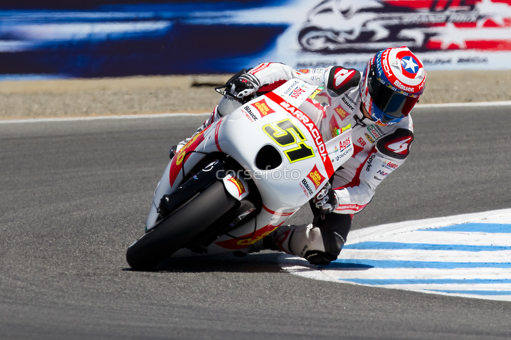 Michel Pirro at laguna seca 2012 by corsefoto