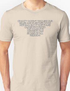 Gravity vs Religion T-Shirt