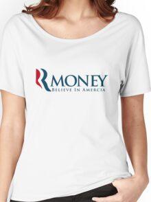 R-Money: Believe in Amercia Women's Relaxed Fit T-Shirt
