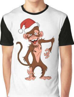 cartoon monkey. Graphic T-Shirt