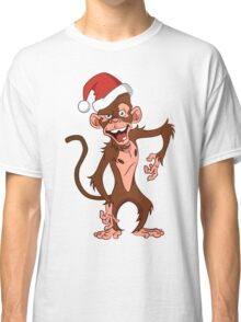 cartoon monkey. Classic T-Shirt