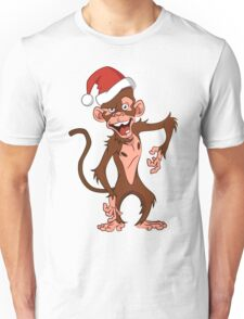 cartoon monkey. Unisex T-Shirt