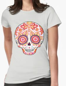 Colorful Sugar Skull Day of the Dead Shirt T-Shirt
