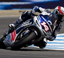Randy De Puniet at laguna seca 2012 by corsefoto