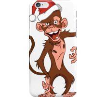 cartoon monkey. iPhone Case/Skin