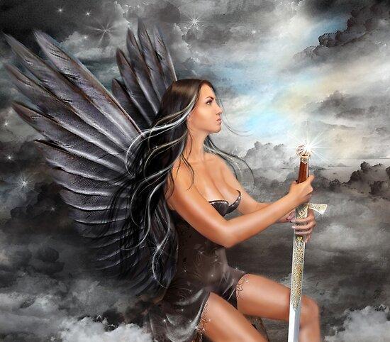 """Black Angel"" by Alena Lazareva"