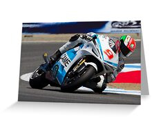 Danilo Petrucci at laguna seca 2012 Greeting Card