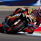 Colin Edwards at laguna seca 2012 by corsefoto