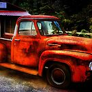 Vintage Rusty Truck by Trudy Wilkerson