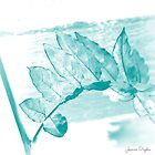 Blue Leaf by Jessica Dryden