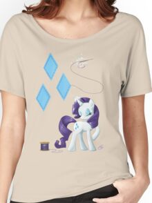 Rarity - Cutie mark Women's Relaxed Fit T-Shirt