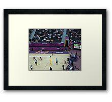 Brazil v Norway Beach Volleyball  Framed Print